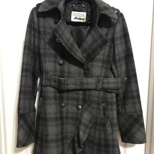 Guess Women's wool blend coat - size small